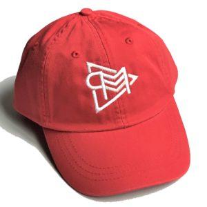 Red P3M Dad Hat