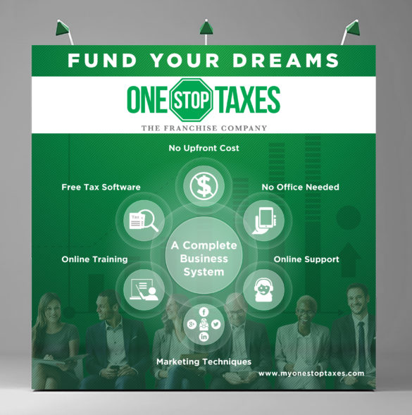 One Stop Taxes 10x10 Banner