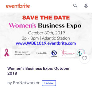 Women's Business Expo 2019