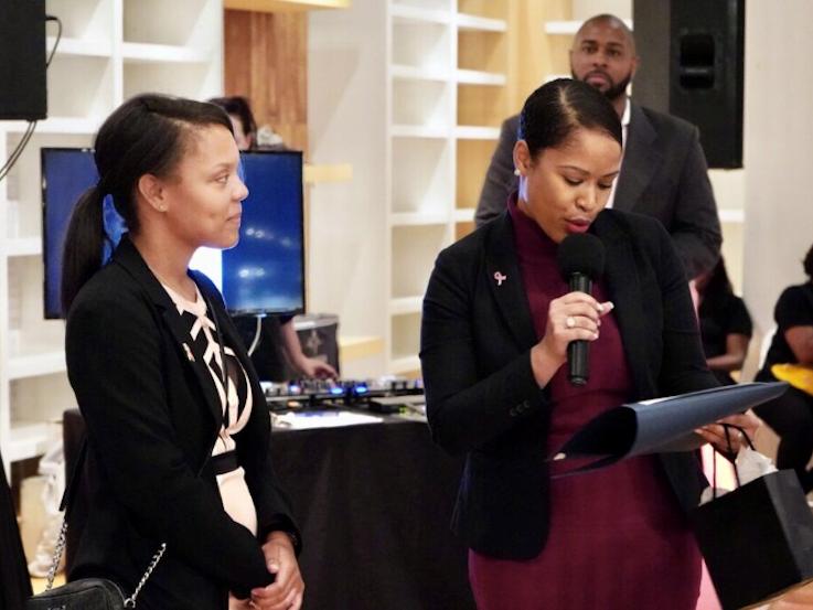 2019 Volunteer of the Year, Paris V. Johnson