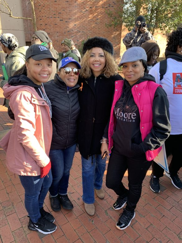 MLK march with Simply United Together and Congress Woman Lucy McBath