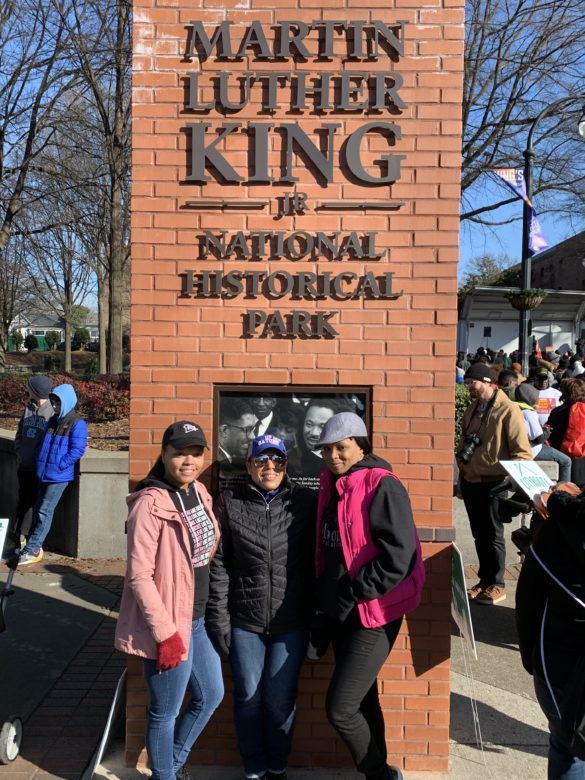 MLK march with Simply United Together