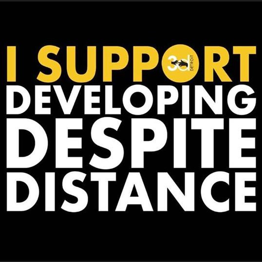 I support Developing Despite Distance