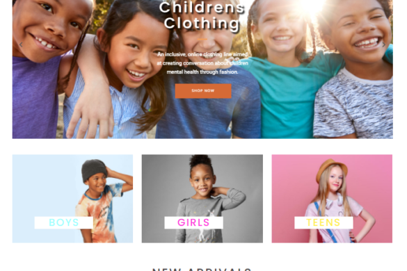"""Kidz Kornerz"" Website Design"